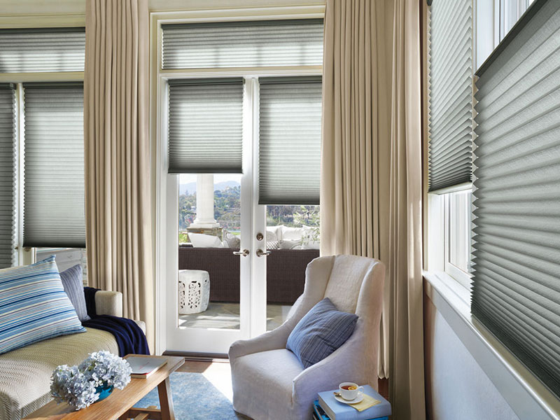Hunter Douglas Allustra® Collection Honeycomb Shades - Available at Interior Images, Brandon, Manitoba